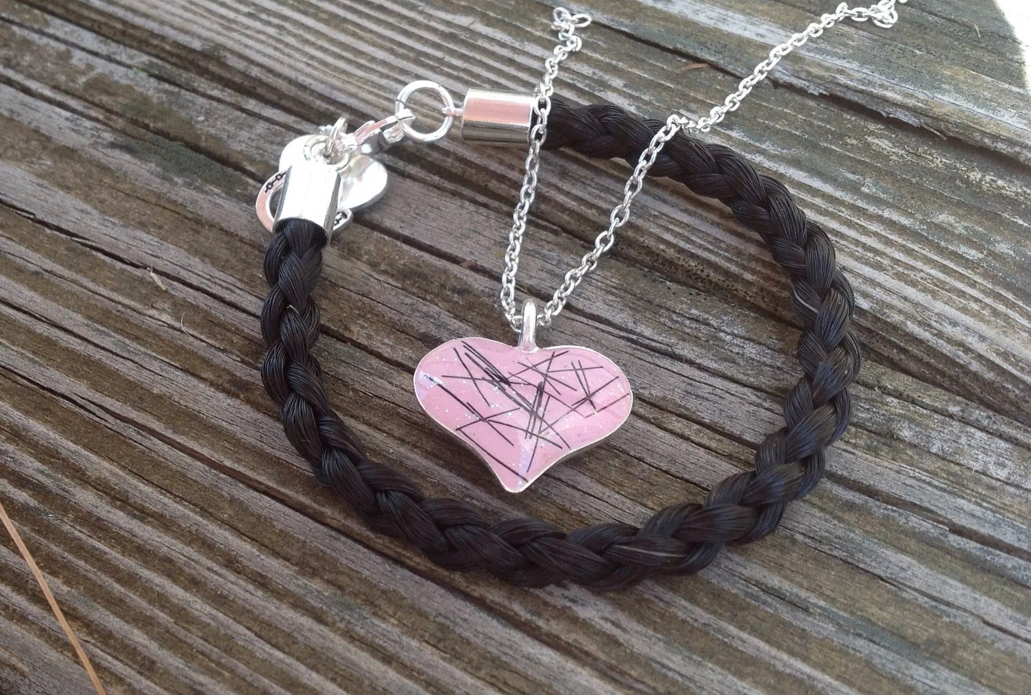 Items Similar To Custom Horse Hair Bracelet And Horse Hair
