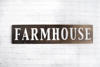 Farmhouse Wood Sign Wooden Sayings Wall Dcor Rustic Wood