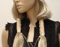 Leather hair wrap   Etsy