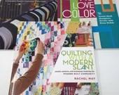 3 Modern Quilting Books...