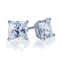 GIA CERTIFIED Princess Cut Solitaire 1.00 carat Diamond