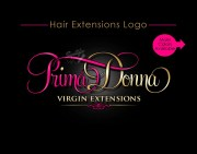 hair extensions logo