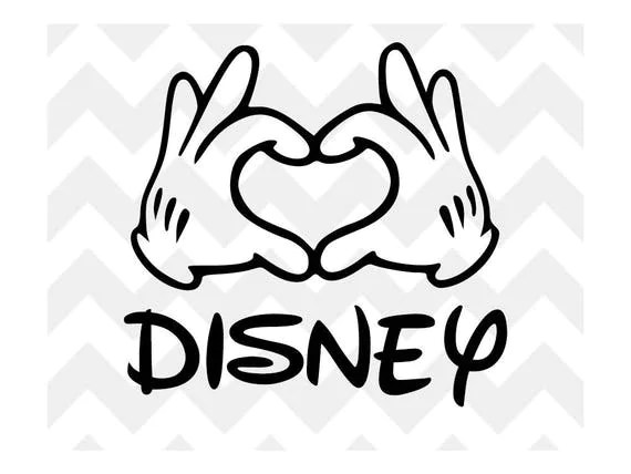 Mickey Mouse Ears Svg File