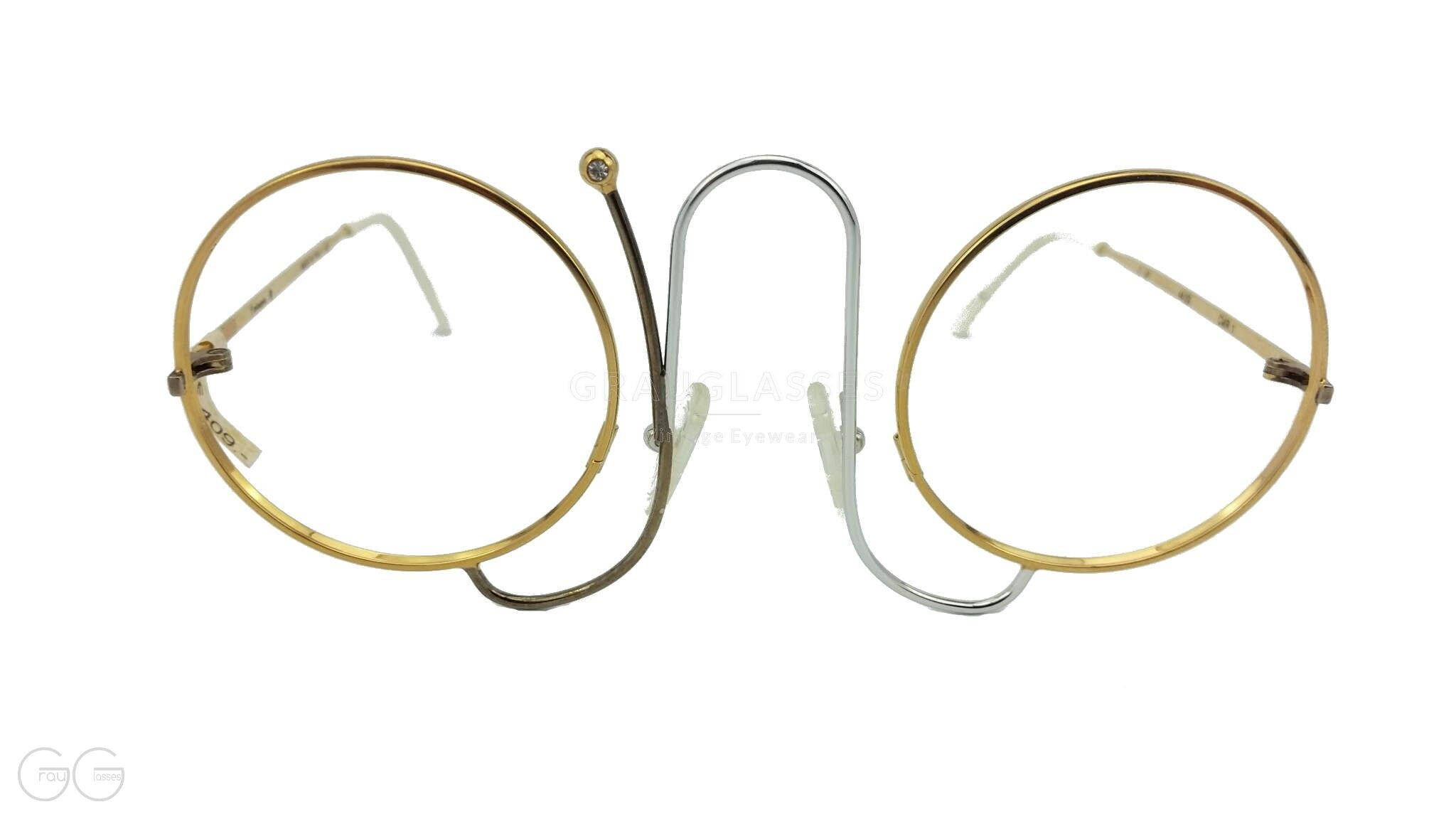 Casanova Model Crm1 Round Vintage Woman Glasses Runde Damen Brille