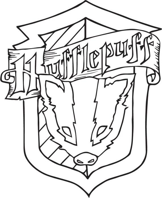 Gryffindor House Crest Svg File