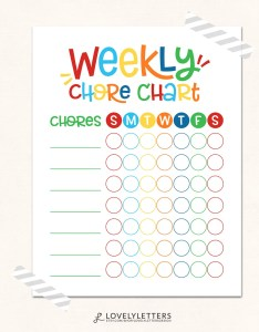 Il xn also kids chore chart print weekly printable digital rh catchmyparty