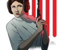 Princess Leia Fan Art Print