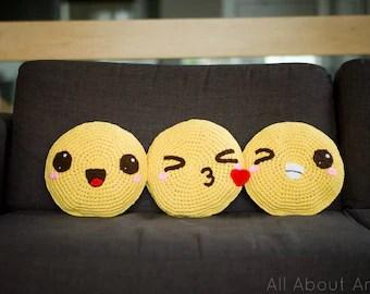 mustard yellow bean bag chair jarvis oz design crochet cushion | etsy