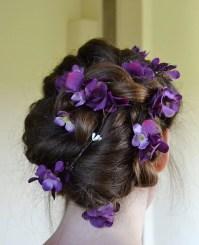 Flower Hair Garland Wedding Hair Flowers Head Wreath Flower
