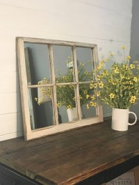Window Pane Mirror White Window Mirror White Mirror Rustic