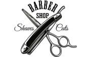 barber logo 13 salon haircut