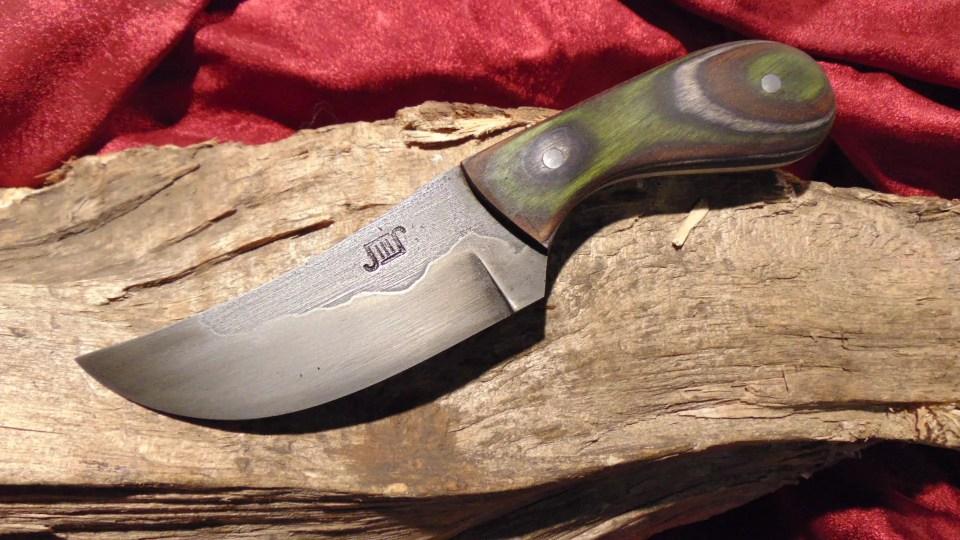 Handforged Knife: Tioga S...