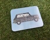Belfast Taxi coaster...