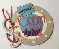 Personalized Wedding/Anniversary Porthole Cruise Door