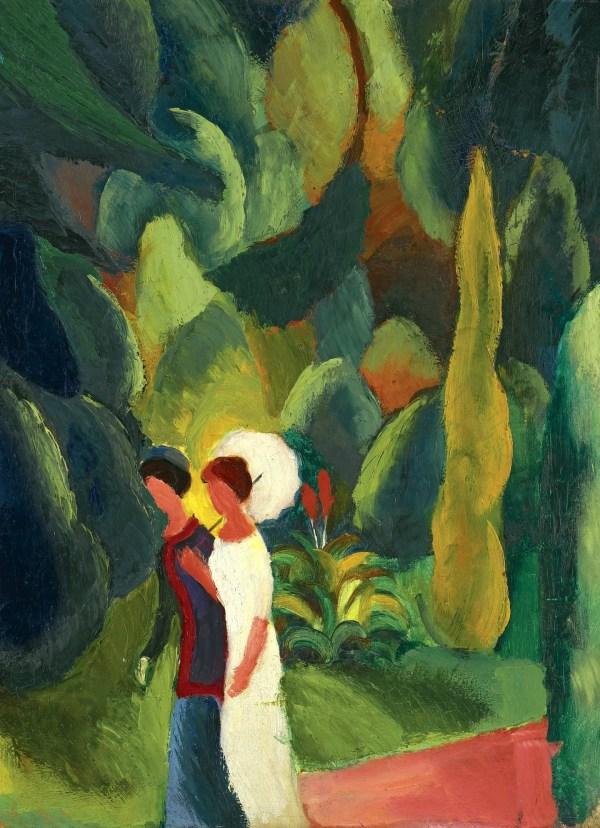 August Macke Painting Women