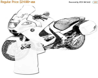 40% OFF Sale Aprilia RSV Drawing T shirt ___ Your Bike