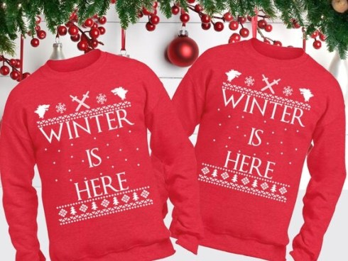 Couples ugly Christmas sweaters like these are perfect for your next holiday party!