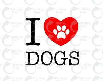Download Love dog svg | Etsy