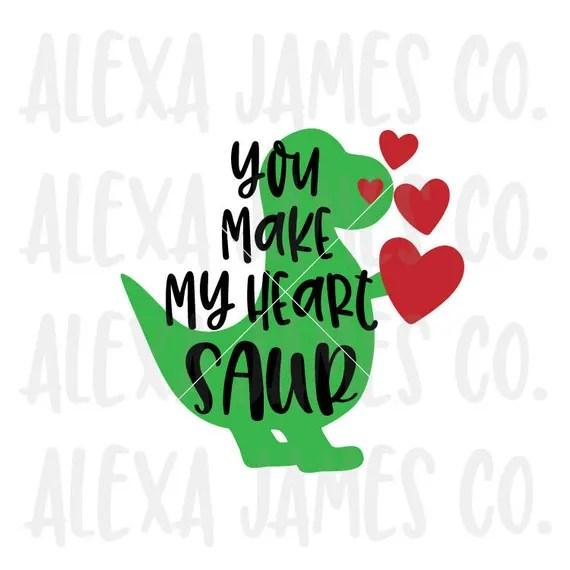 Download Valentine svg Dinosaur Love svg Love Bites svg SVG Cut