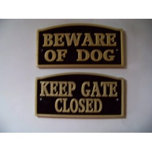 Multipurpose Dog Sign Beware Beware Dog Signs Home Depot Dog