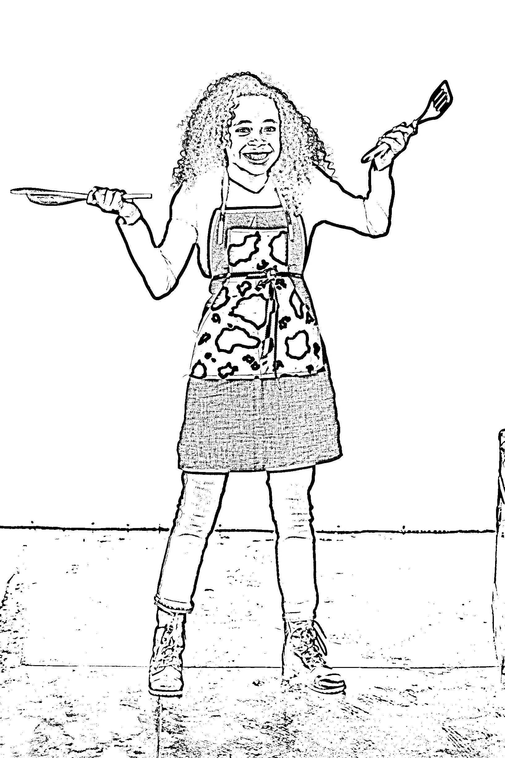 Tween Fashion Coloring Pages Cute Designs to Color and Sew