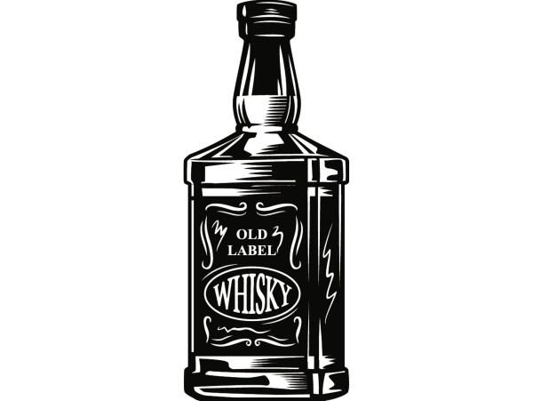 Alcohol Bottle 7 Whiskey Liquor Drink Drinking Western Salon