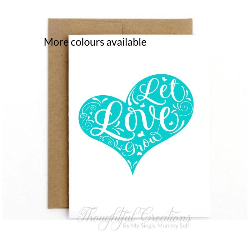 Valentines Day Card, Anni...