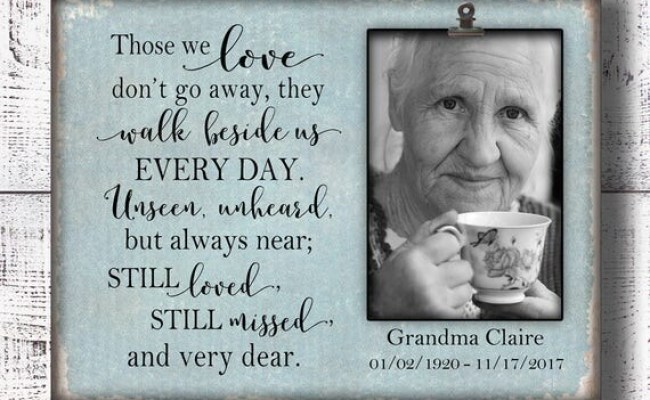 Sympathy Gift In Memory In Loving Memory Memorial