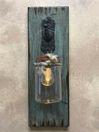 Led Wall Sconce Battery Powered Stone ~ wampom.com for