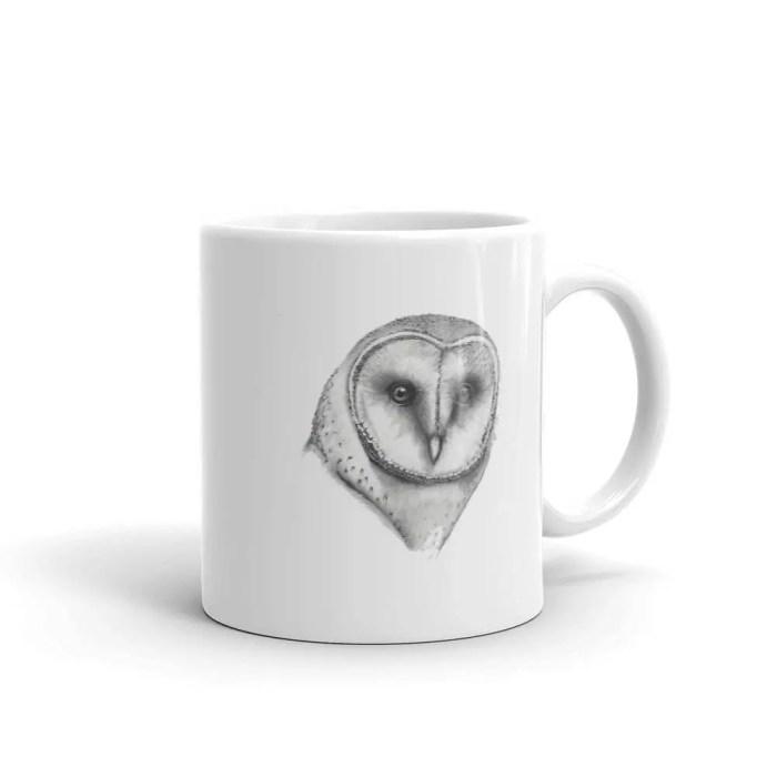 Hand drawn owls mug, Cute...