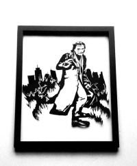 Joker silhouette | Etsy