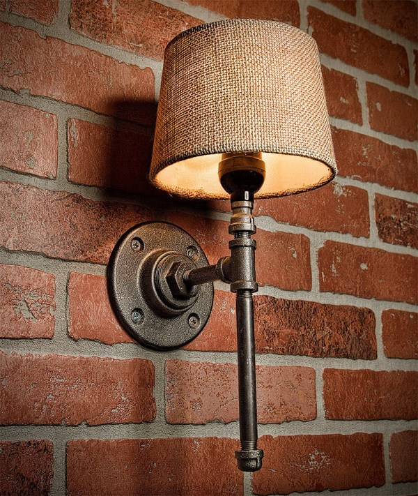Rustic Industrial Wall Lights