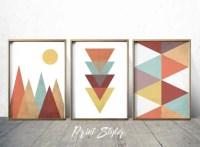 Geometric Art Prints Geometric Wall Art Geometric Art Nordic