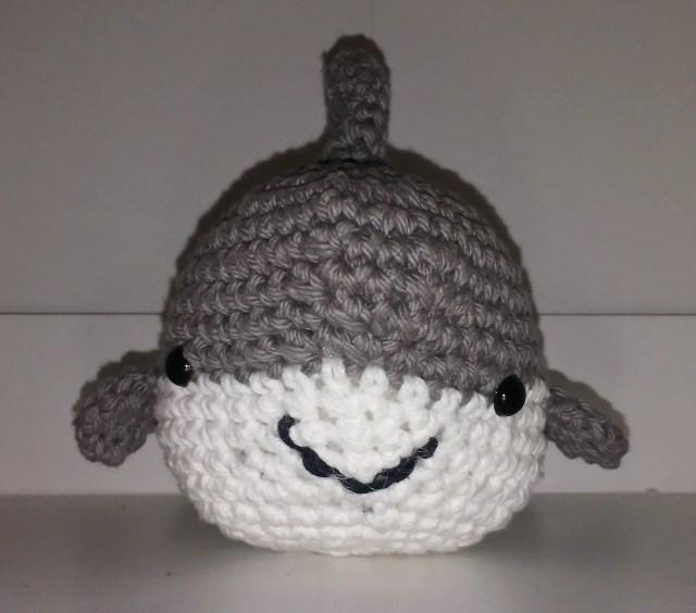 Crochet Stuffed Shark...