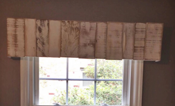 Rustic Wooden ValanceRustic Wooden CorniceWooden Window