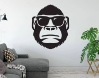 Monkey wall decal | Etsy