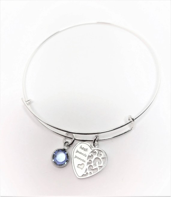 Best Friends Forever Bangle Adjustable Bangle
