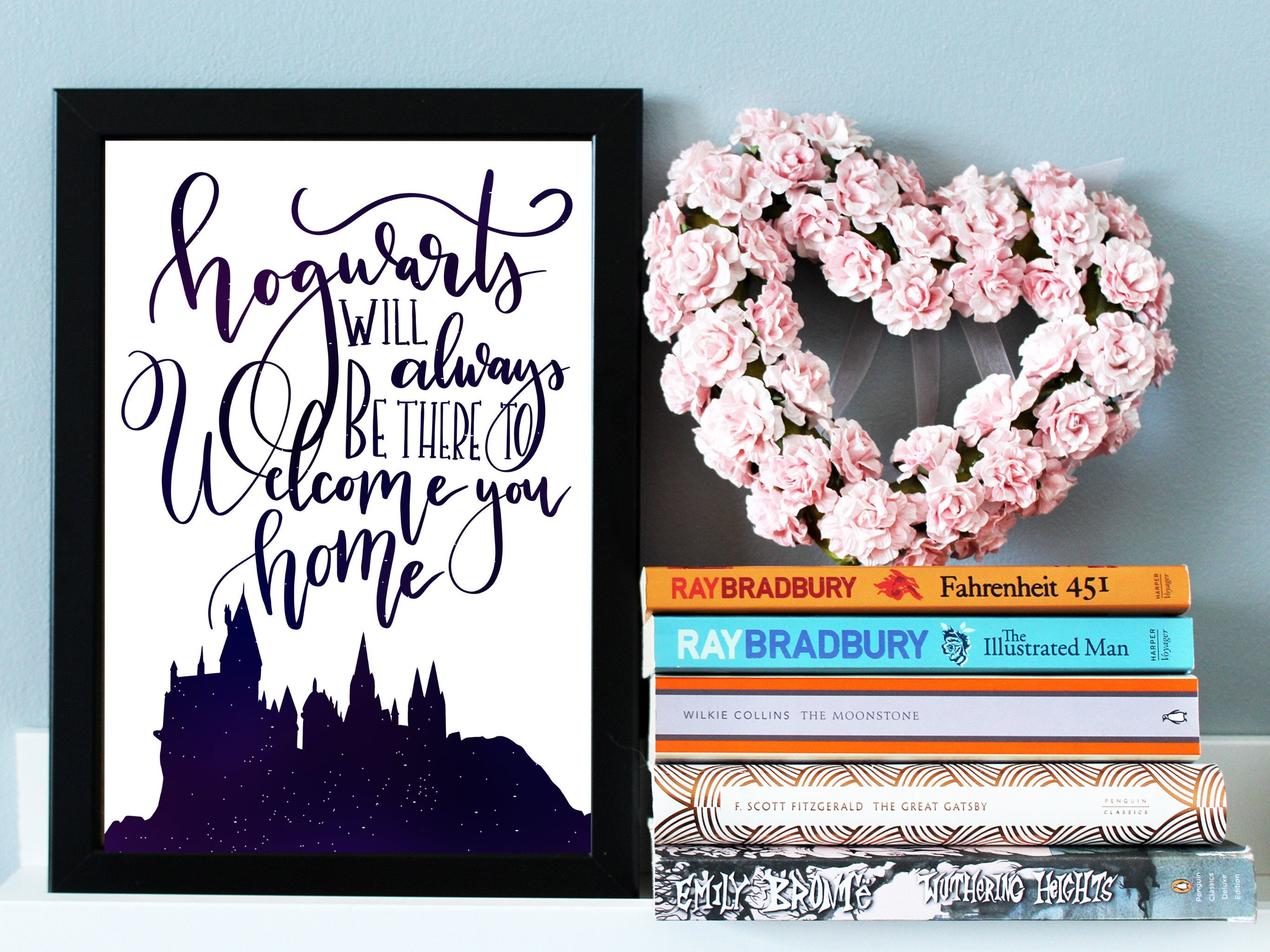 Harry Potter Quote Print Hogwarts Print Harry Potter Wall