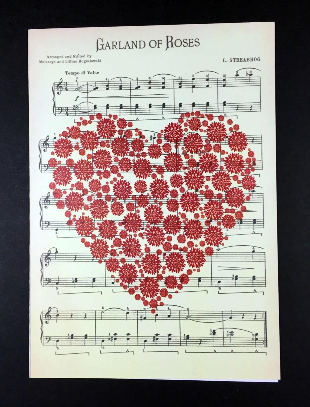Valentine's card, lov...