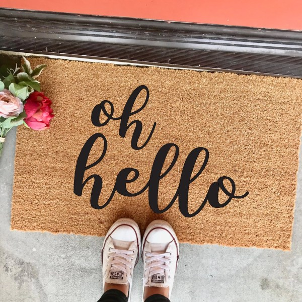 Hello In Cursive Font - Year of Clean Water