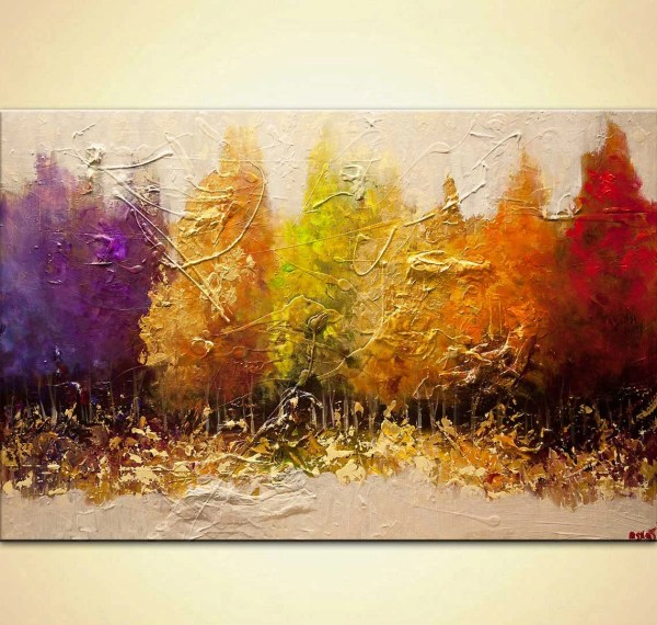 Canvas Art Stretched Embellished & Ready-hang Print