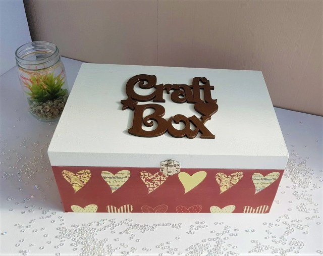 Storage Box, Keepsake Box...