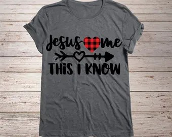 Download Jesus loves me decal | Etsy