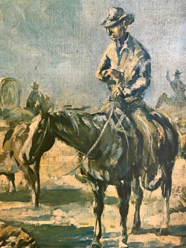 Vintage 1965 .kelly Pruitt Rancho De Taos Artist