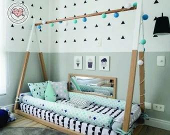 montessori bed | etsy