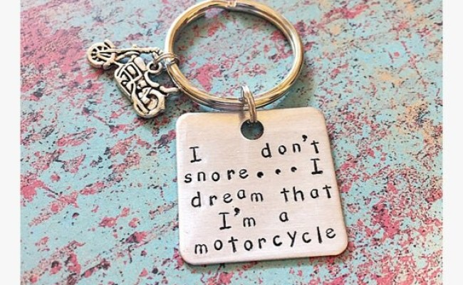 Motorcycle Keychain Fathers Day Gift Gifts For Dad Biker Gifts