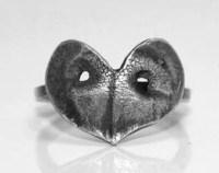 Paw print heart