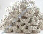 Wedding Favors 100 Nautical  Sailor Knot Bracelets, the Authentic Rope Bracelet volume discount - MysticKnotwork