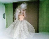 BARBIE CLOTHES Handmade Royal Wedding inspired  dress- barbie doll (nannycheryl original)  857 x 84