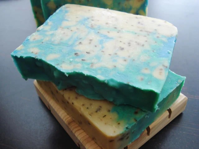 Pear Citrus Basil Handcrafted Soap - DallasSoapCompany